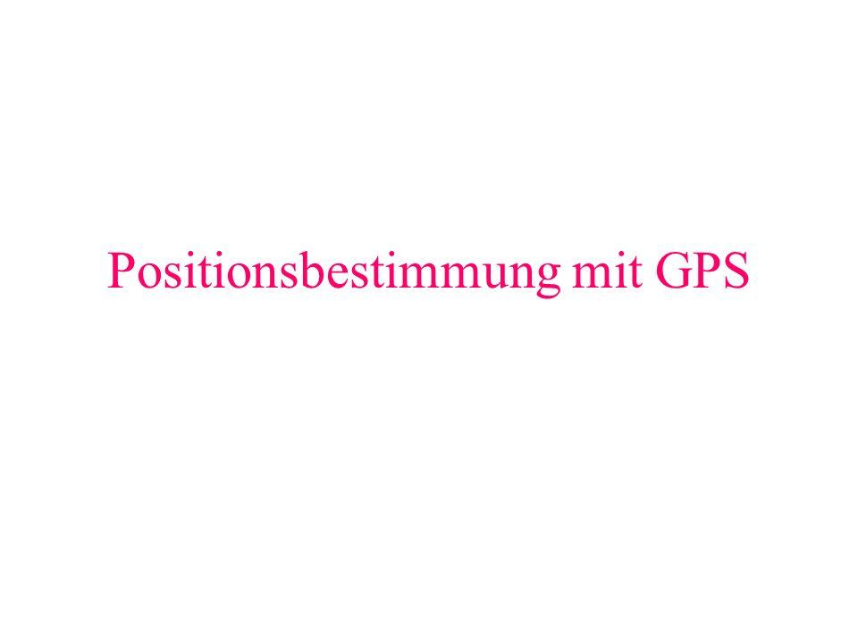 Grundprinzip (10) Darstellung auf dem Pocket PC Längen und Breitengrade Ground Speed Empfangsqualität der Satelliten und deren Bezeichnung Satellitenposition zum Standort 3D position fix Verbindung GPS Empfänger PDA Ground Track