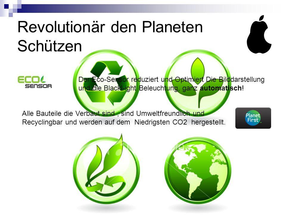 Revolutionär den Planeten Schützen Der Eco-Sensor reduziert und Optimiert Die Bilddarstellung und die Blackl-ight Beleuchtung, ganz automatisch.