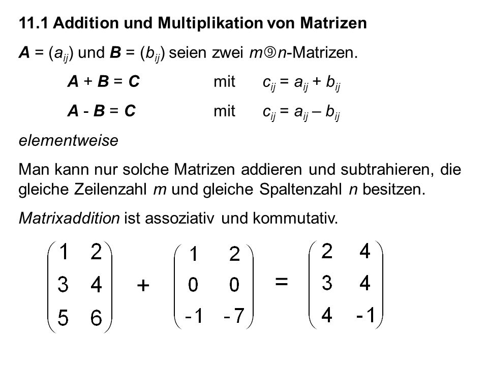 Berechnung der Inversen A -1 von A.(E n (...(E 3 (E 2 (E 1 A))))) = I (E n...