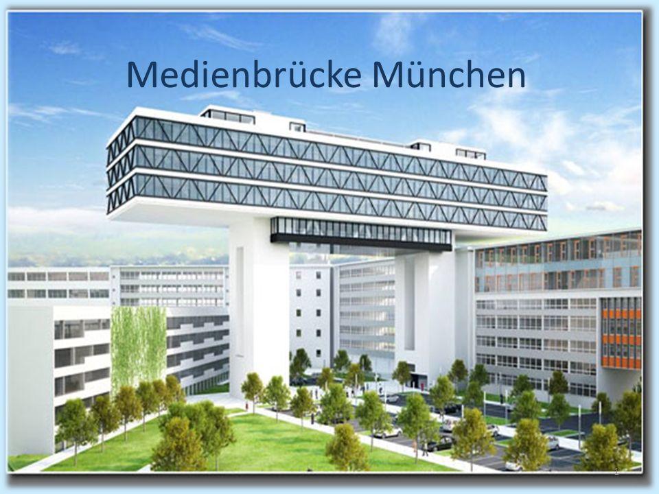 Futuristische Brücke Von der Vision zur Realität Medienbrücke München 1