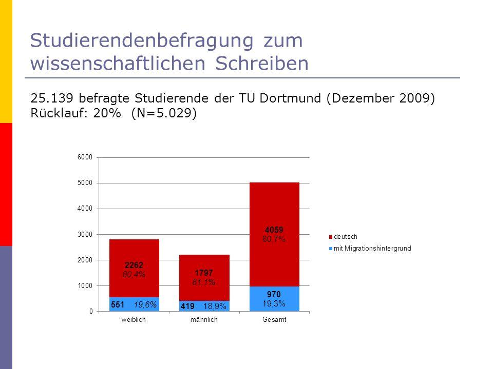 Auswertung nach folgender Differenzierung: mobile Studierende mit nicht-deutscher Staatsbürgerschaft Studierenden aus Einwandererfamilien, die eine ausländische Staatsbürgerschaft besitzen Studierenden aus Einwandererfamilien mit deutscher Staatsbürgerschaft Familiensprache anders als Deutsch Doppelstaatsbürgerschaften Land des Erwerbs der Hochschulzugangsberechtigung
