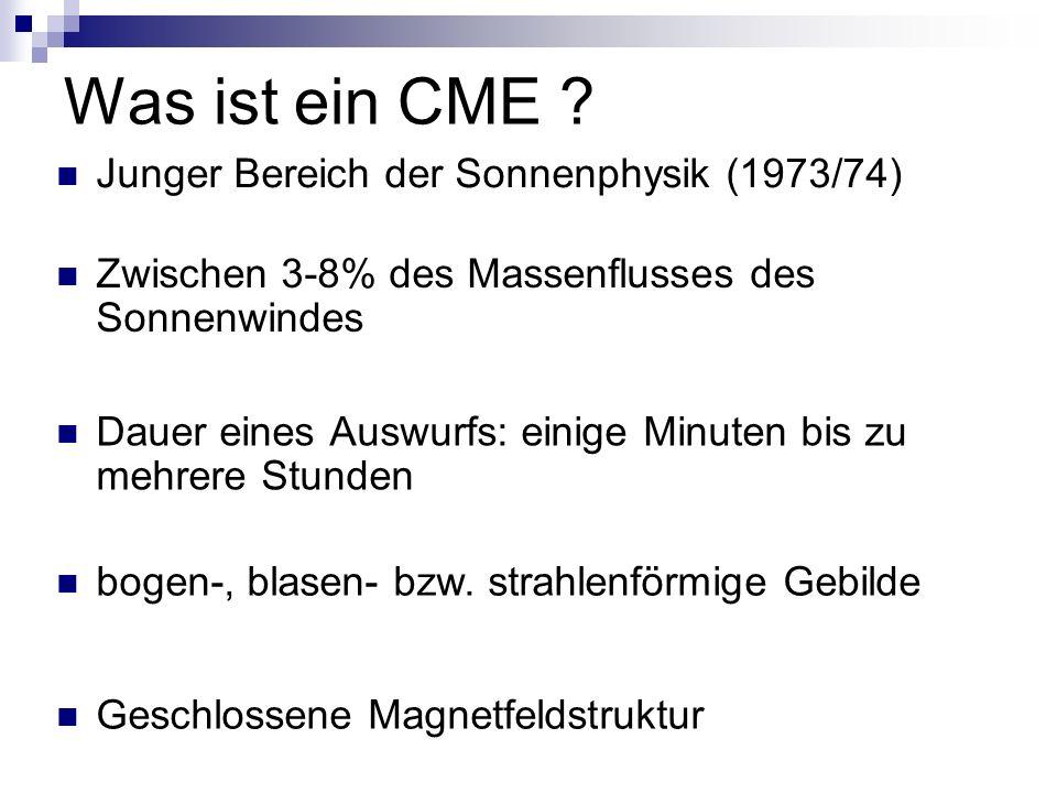 Wie entstehen CMEs.
