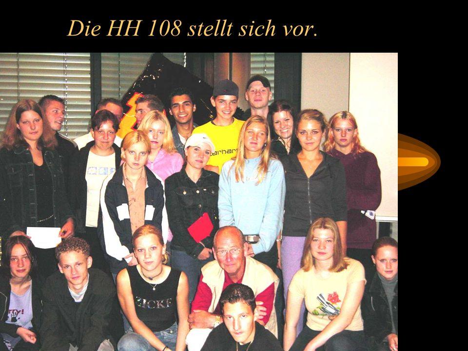Einführungstage in der HH 108 am 23.und 27. August 2001 Pädagogischer Tag am 23.