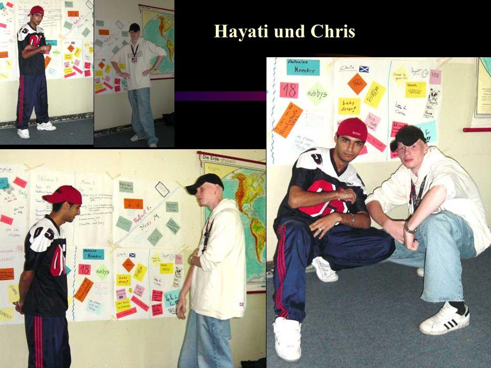 Hayati und Chris