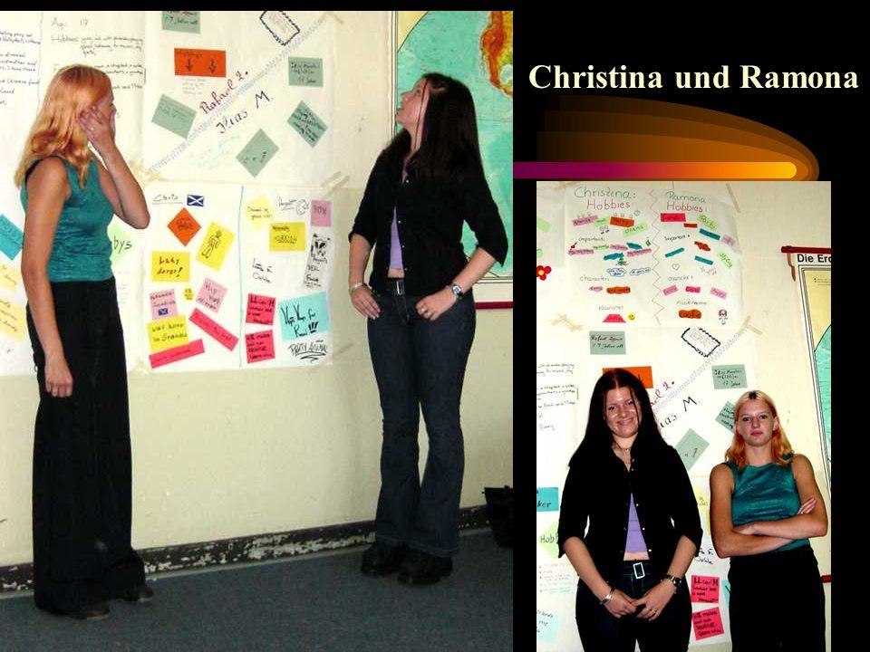 Christina und Ramona