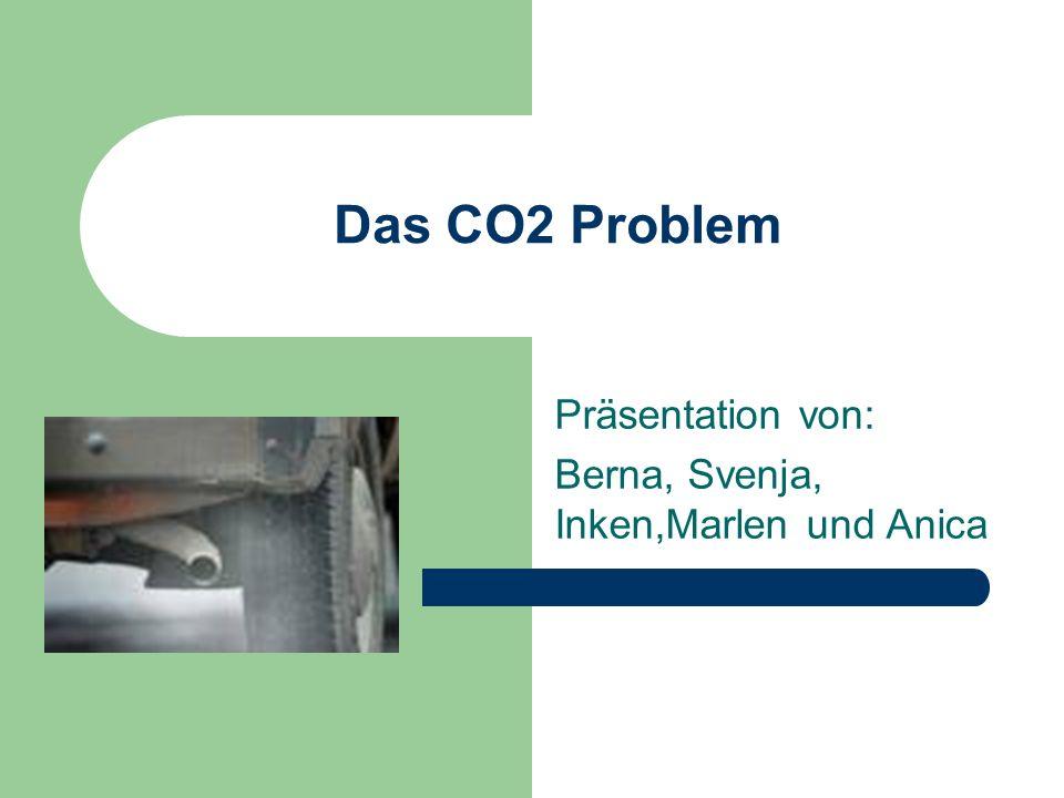 Das CO2 Problem Präsentation von: Berna, Svenja, Inken,Marlen und Anica