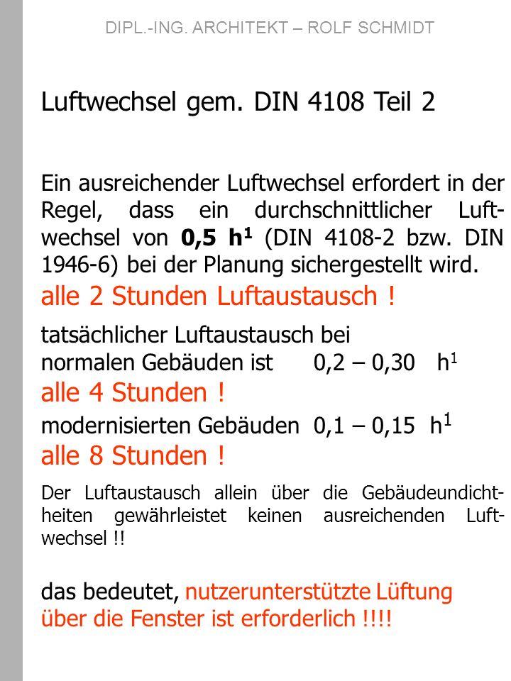 Weitere Informationen unter : www.wohnungslueftung-ev.de www.holzhaeuser-rs.de DIPL.-ING.