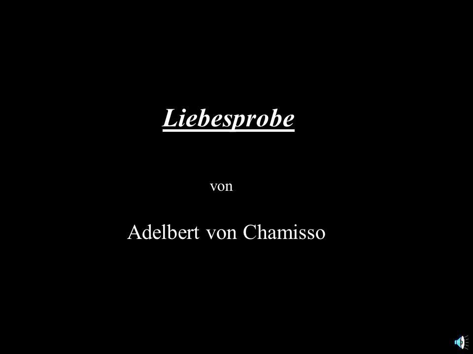 - Geb. 30.1.1781 auf Schloß Boncourt (Champagne) - Gest. 21.8.1838 in Berlin Adelbert von Chamisso (eigentlich: Louis Charles Adélaïde de Chamisso de