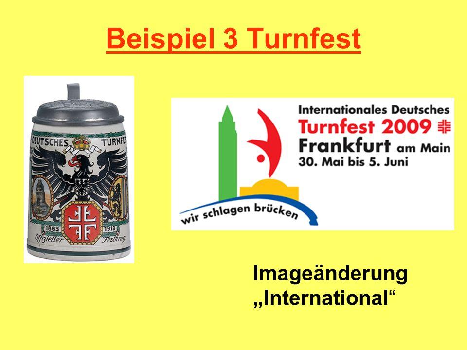 Beispiel 3 Turnfest Imageänderung International