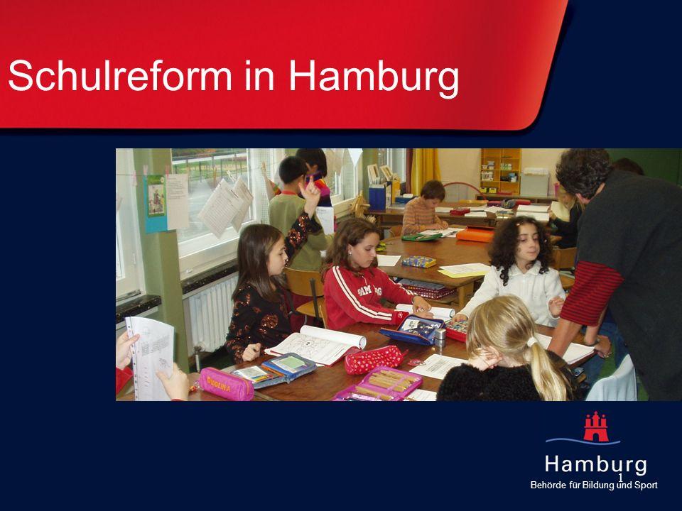 Behörde für Bildung und Sport 1 Schulreform in Hamburg