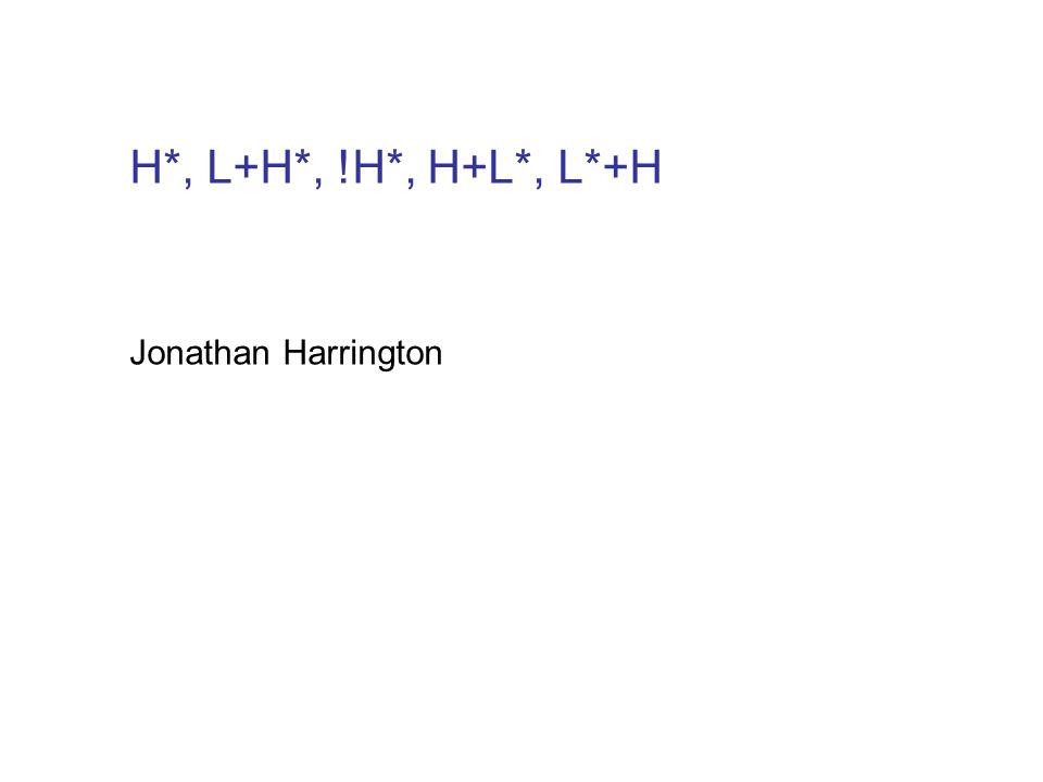 Aufgabe I: train8.wav (= Washington Post) mit H+L* statt !H* auf Post resynthetisieren.
