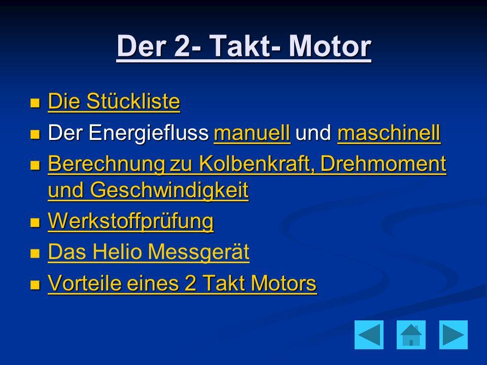 Die Stückliste Die Stückliste Die Stückliste Die Stückliste Der Energiefluss manuell und maschinell Der Energiefluss manuell und maschinellmanuellmasc