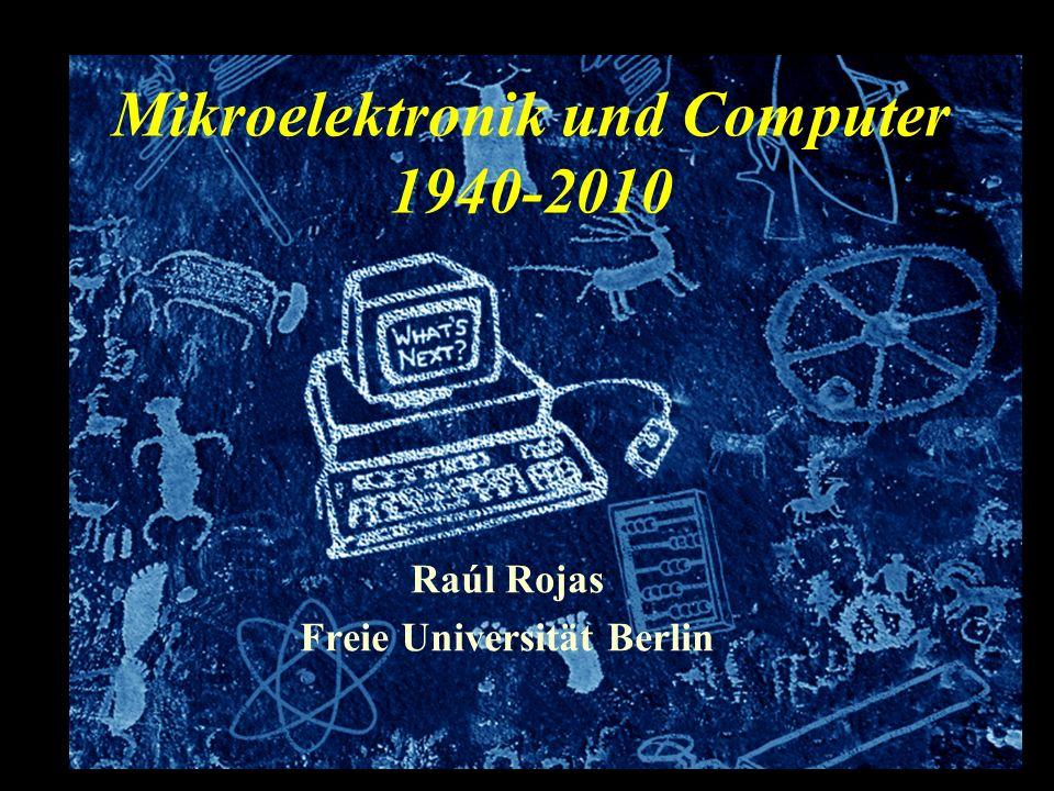 Überblick Über Geschichte und Prognosen Evolution der Rechnerarchitektur Technology Roadmaps Prognose für die nächsten zehn Jahre