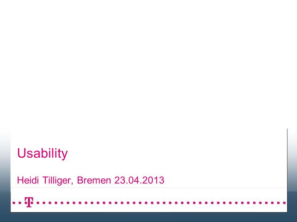 Seite 21 Usability - 23.04.2013 Barrierefreiheit – Denken wir auch an diese Nutzer.