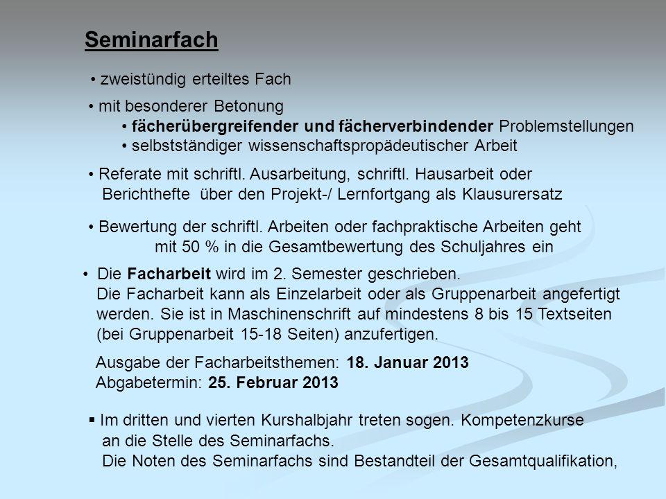 Gesamtqualifikation und Abiturprüfung Block I Block II 12 Ergebn.