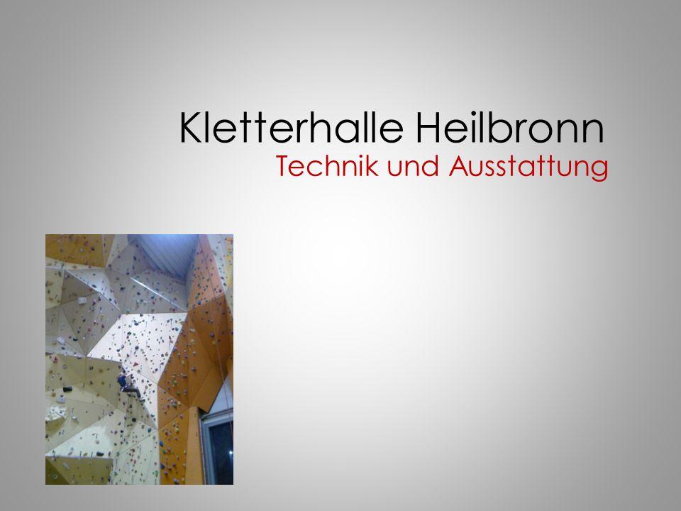 Kletterhalle Heilbronn Technik und Ausstattung