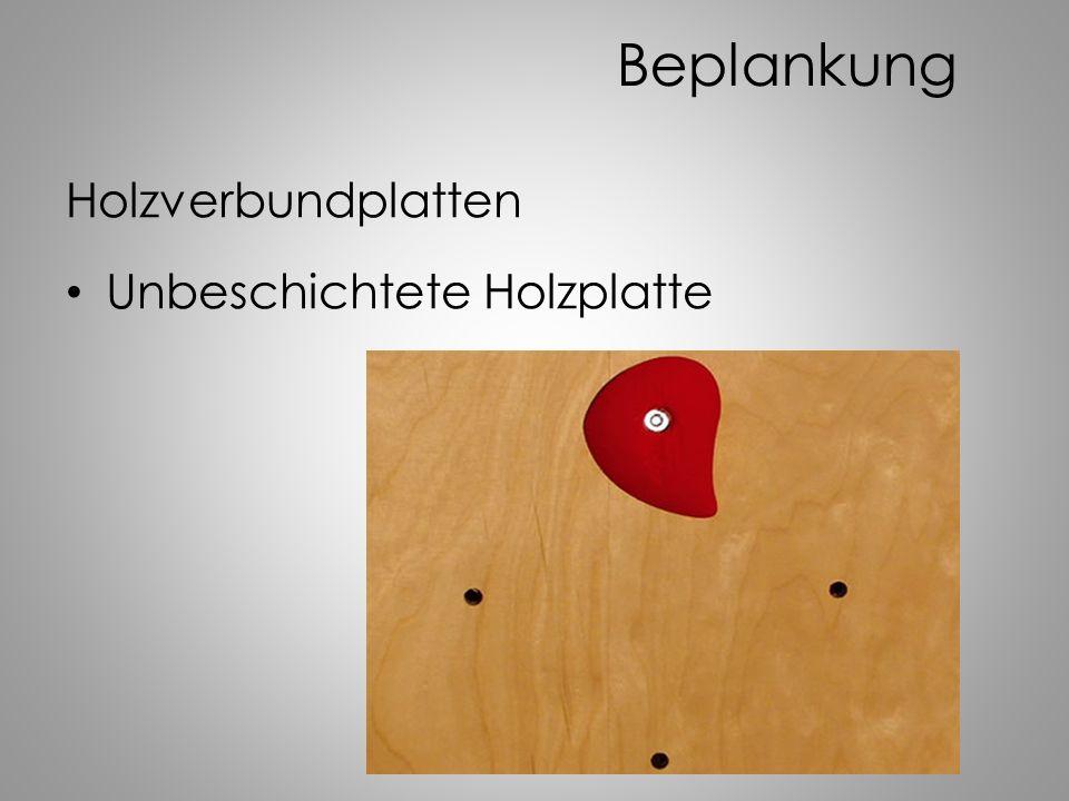 Beplankung Holzverbundplatten Unbeschichtete Holzplatte