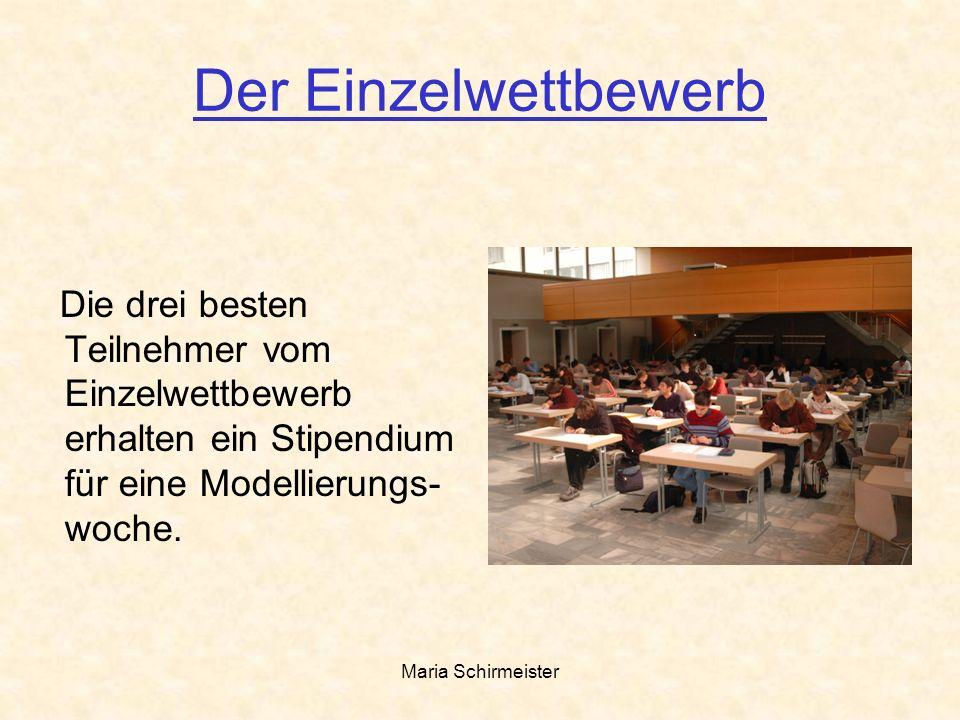 Maria Schirmeister Fortbildung für Lehrer Die begleitenden Lehr- kräfte erhalten dieMöglich- keit an Fortbildungsmaß- nahmen teilzunehmen.