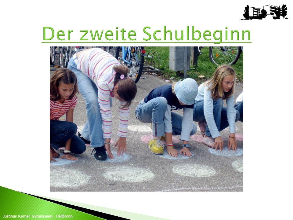 Justinus-Kerner-Gymnasium, Heilbronn besonderes Schulprofil räumliche Nähe Geschwisterprinzip bereits von weiter her mit dem Bus Endgültige Zusage erst, wenn alle Anmeldezahlen vorliegen.