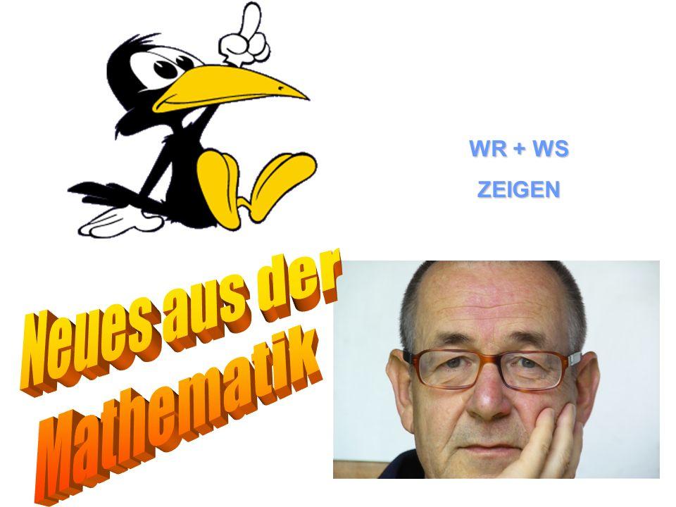 WR + WS ZEIGEN