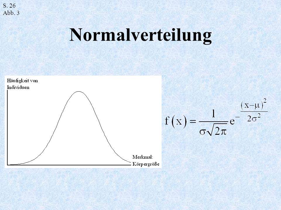 Normalverteilung S. 26 Abb. 3