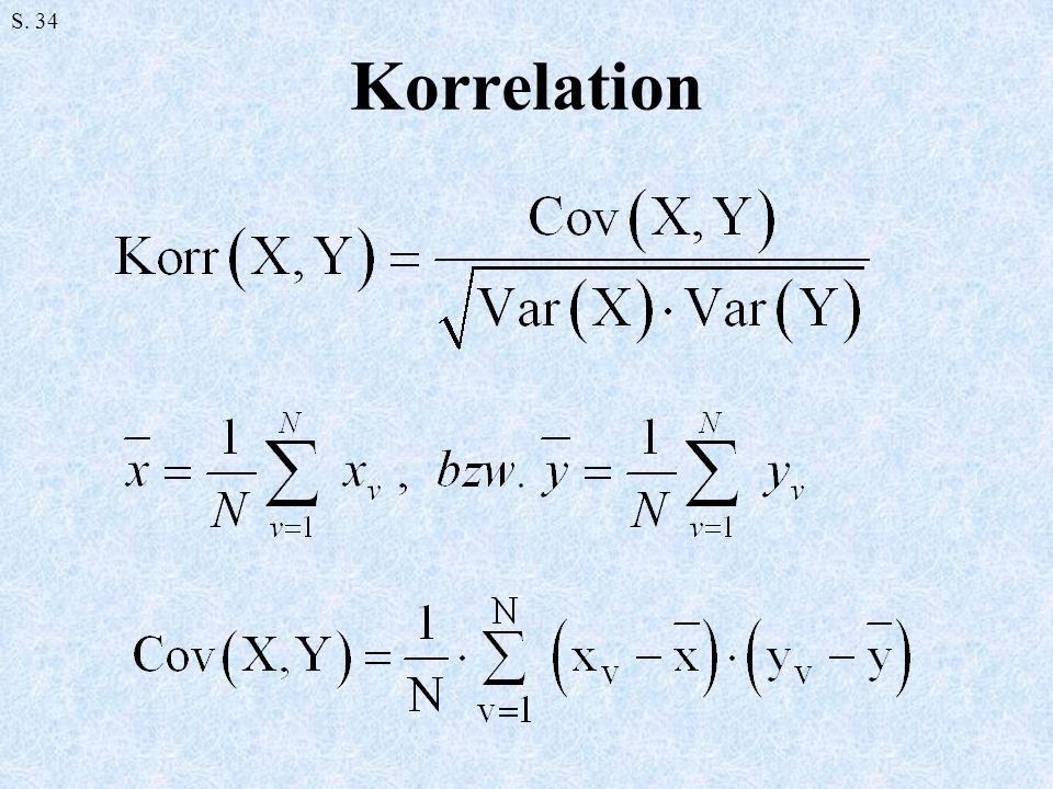 Korrelation S. 34