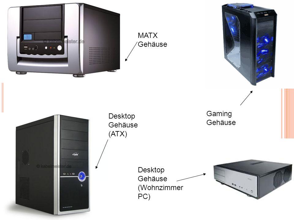 Desktop Gehäuse (ATX) MATX Gehäuse Desktop Gehäuse (Wohnzimmer PC) Gaming Gehäuse