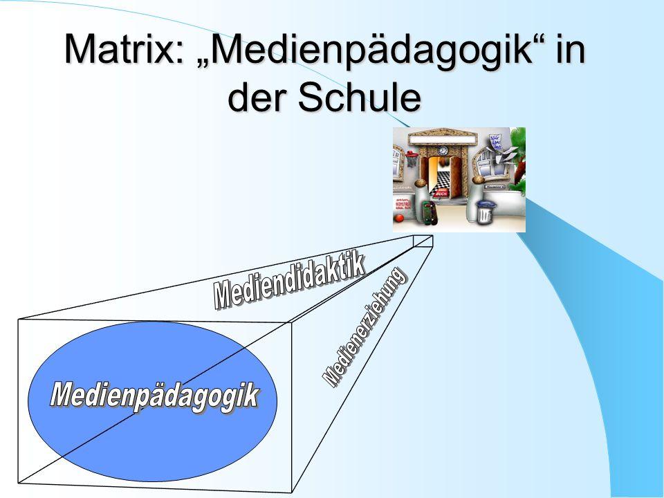 Matrix: Medienpädagogik in der Schule