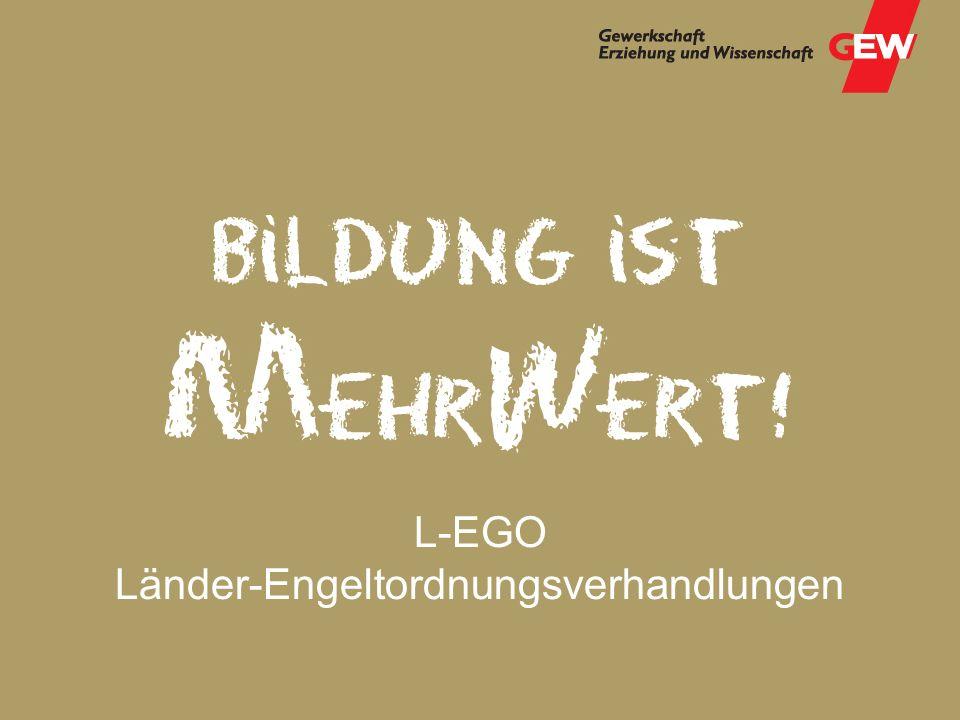 L-EGO Länder-Engeltordnungsverhandlungen