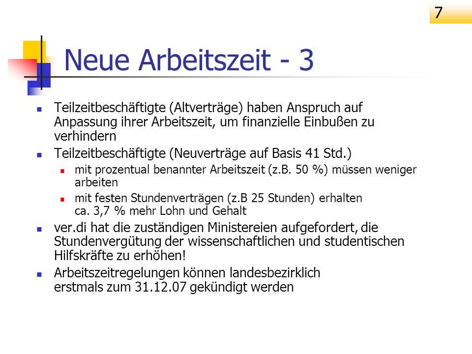 18 Entgeltgruppe 15Ü Überleitung aus Vergütungsgruppe I BAT Überleitung nicht mindestens in Stufe 2