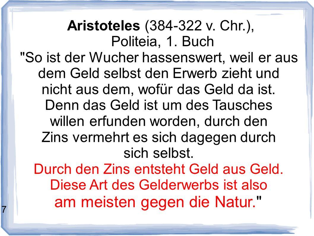 Aristoteles (384-322 v.Chr.), Politeia, 1.