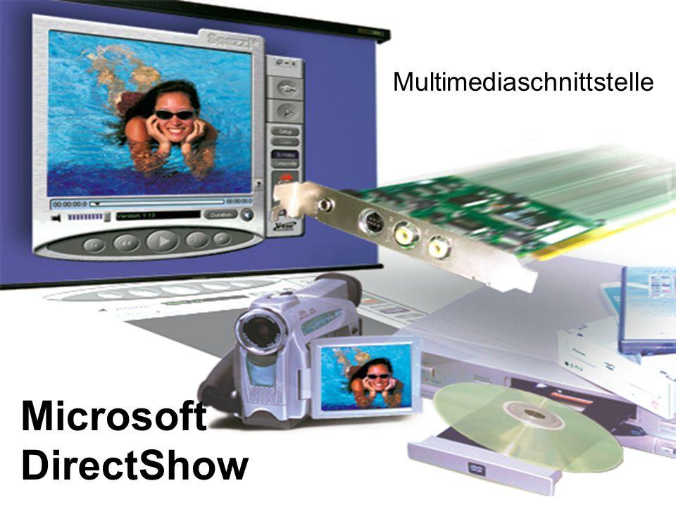 Microsoft DirectShow Multimediaschnittstelle