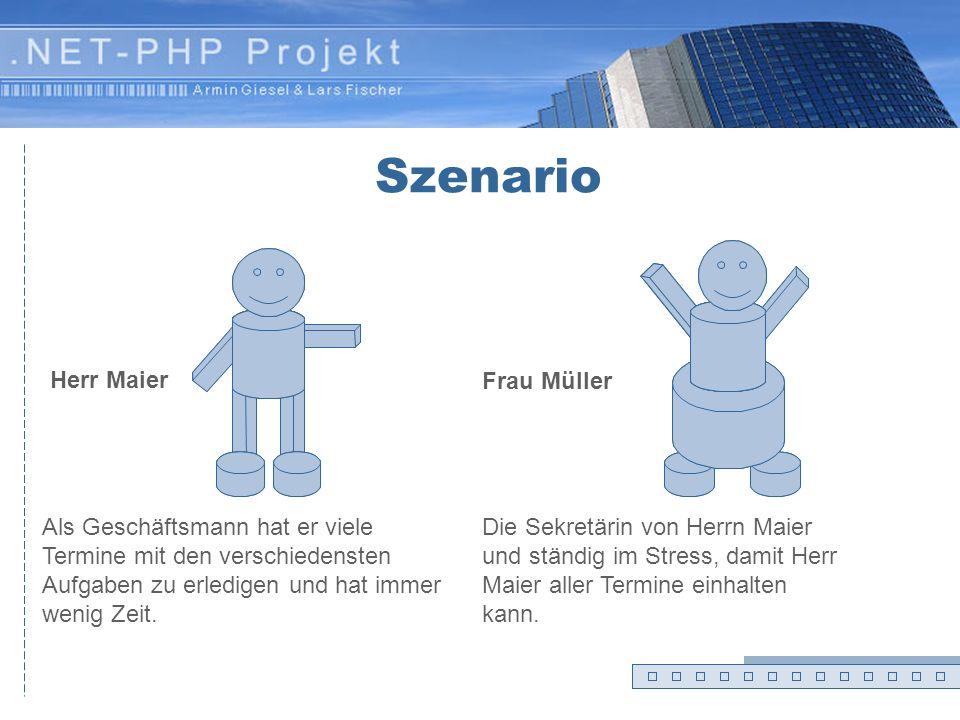 .NET-PHP Projekt Präsentation Armin Giesel & Lars Fischer