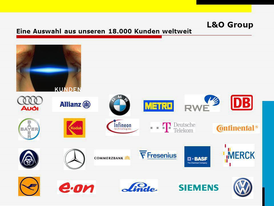 L&O Group Eine Auswahl aus unseren 18.000 Kunden weltweit