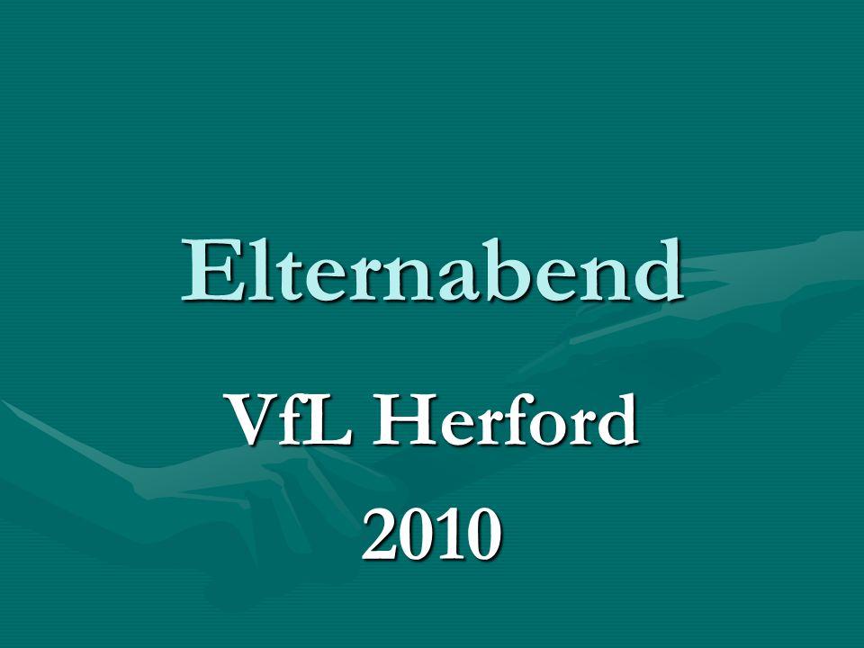 Elternabend VfL Herford 2010