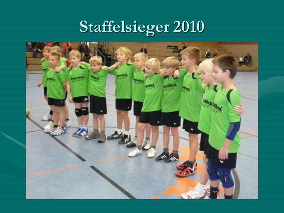 Staffelsieger 2010