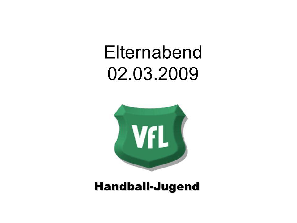 Elternabend 02.03.2009 Handball-Jugend Handball-Jugend