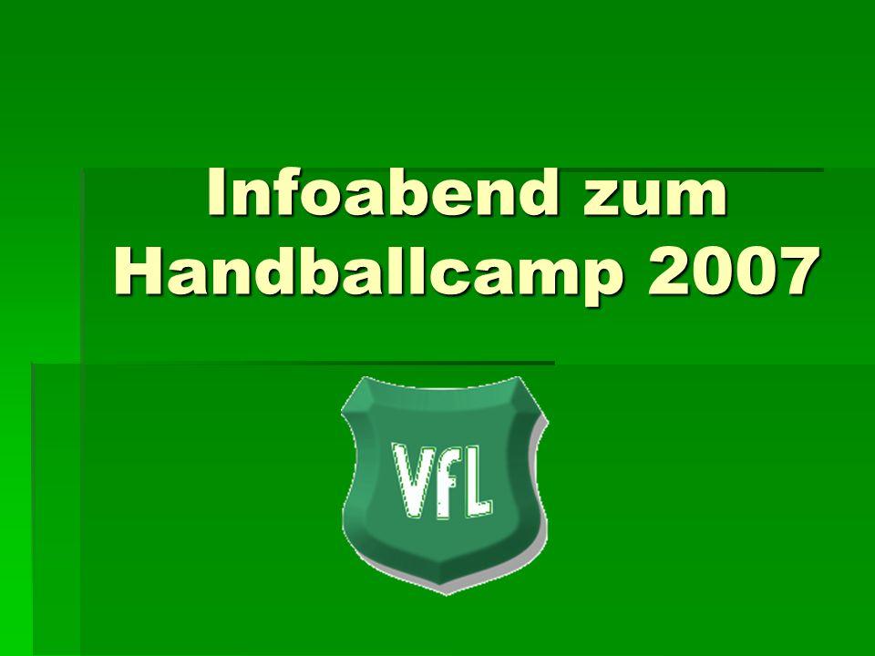 Infoabend zum Handballcamp 2007