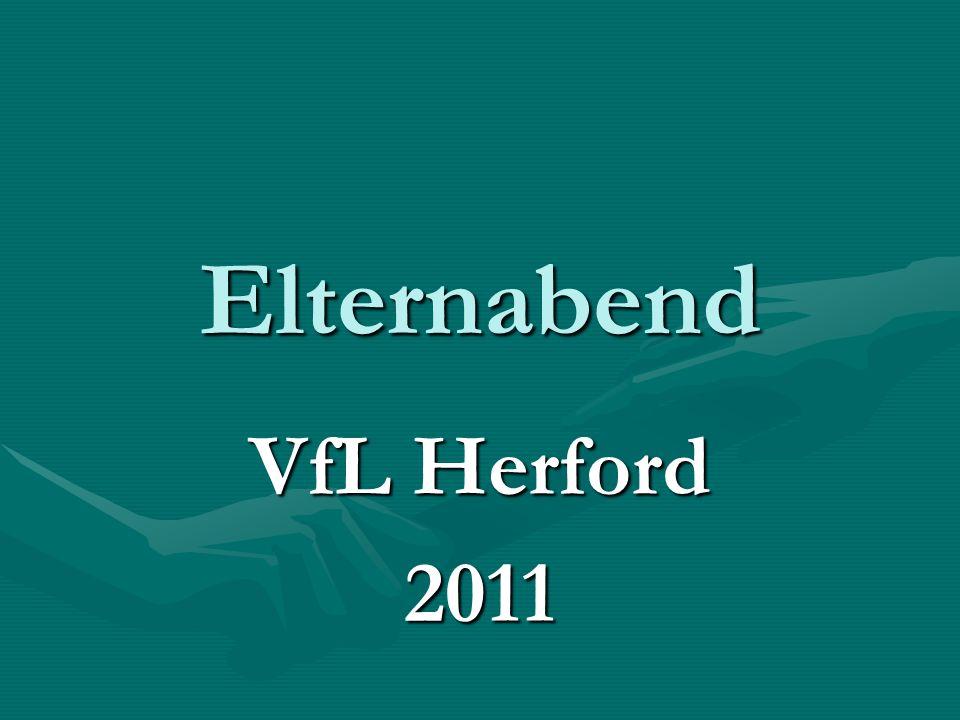 Elternabend VfL Herford 2011