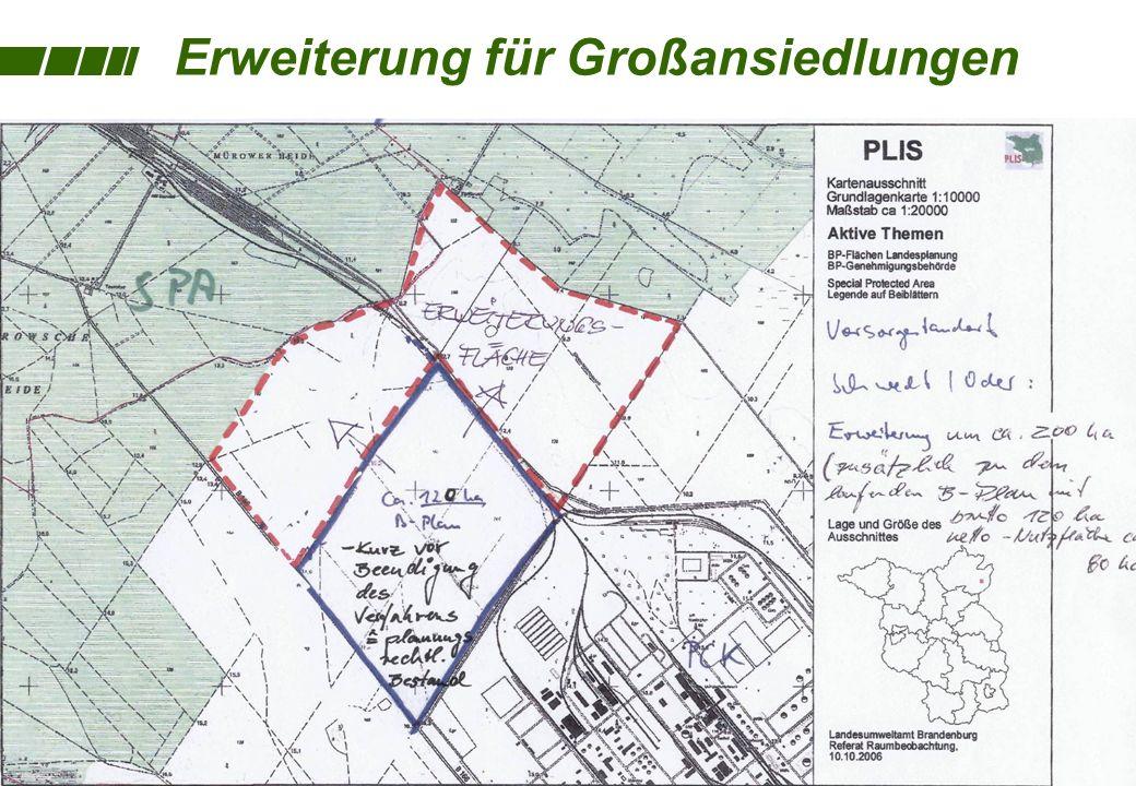 Grundwasser- gewinnung PCK Oberflächenwasser- gewinnung PCK Umspannwerk E.ON-edis Abwassereinlauf Oder geplante 380 kV-Leitung Vattenvall 3 1 6 5 Stro