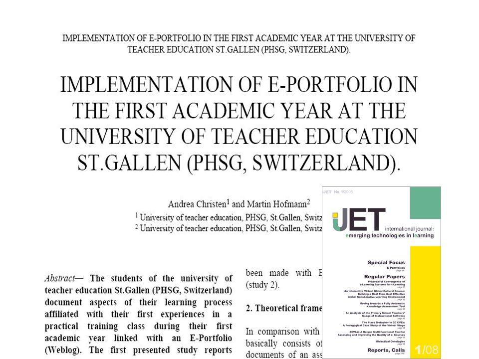 36 Pädagogische Hochschule des Kantons St.Gallen