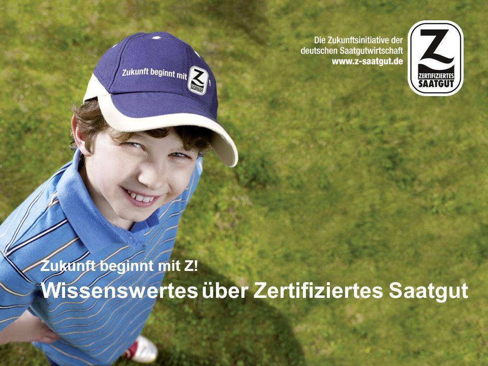 22/42 Kennzeichnung von Z-Saatgut: das Blaue Etikett Die Saatgutverordnung enthält die Vorschriften für Kennzeich- nung, Verschließung und Ab- packung von Zertifiziertem Saat- gut.