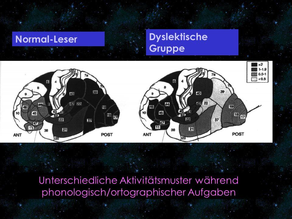 = die Fähigkeit, möglichst schnell schriftliche Symbole in lautsprachliche Entsprechungen zu transformieren Die phonologische Rekodierungsfähigkeit kann bereits im Vorschulalter über die Geschwindigkeit beim Benennen von Farben nichtfarbig dargebotener Objekte bzw.