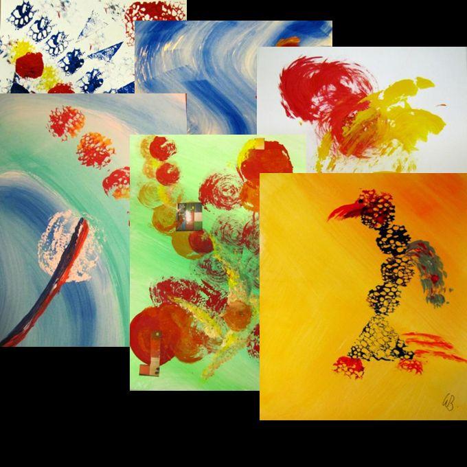 Von den Künstlern und ihren Werken