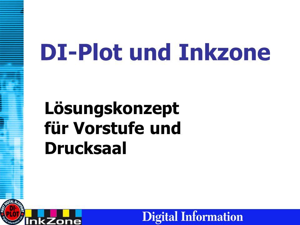 DI-Plot und Inkzone Lösungskonzept für Vorstufe und Drucksaal
