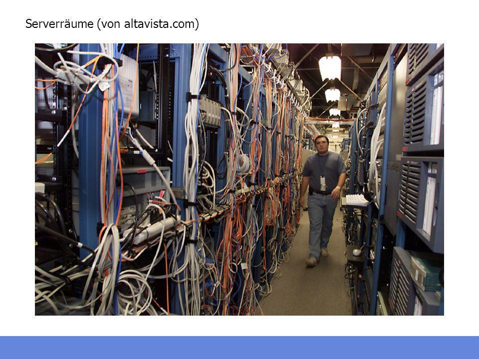 Serverräume (von altavista.com)