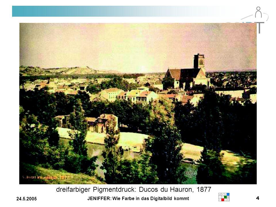 JENIFFER: Wie Farbe in das Digitalbild kommt 24.5.2005 Der Laplace-operator 1.