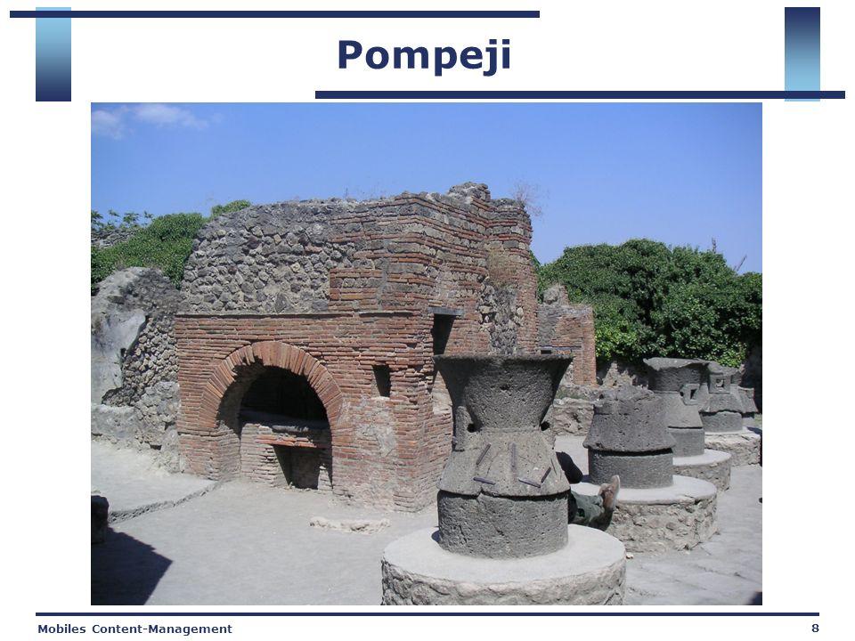 Mobiles Content-Management 8 Pompeji