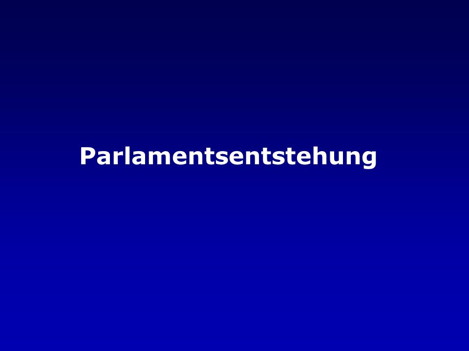 Wohlfahrtausschuss als Regierungsersatz