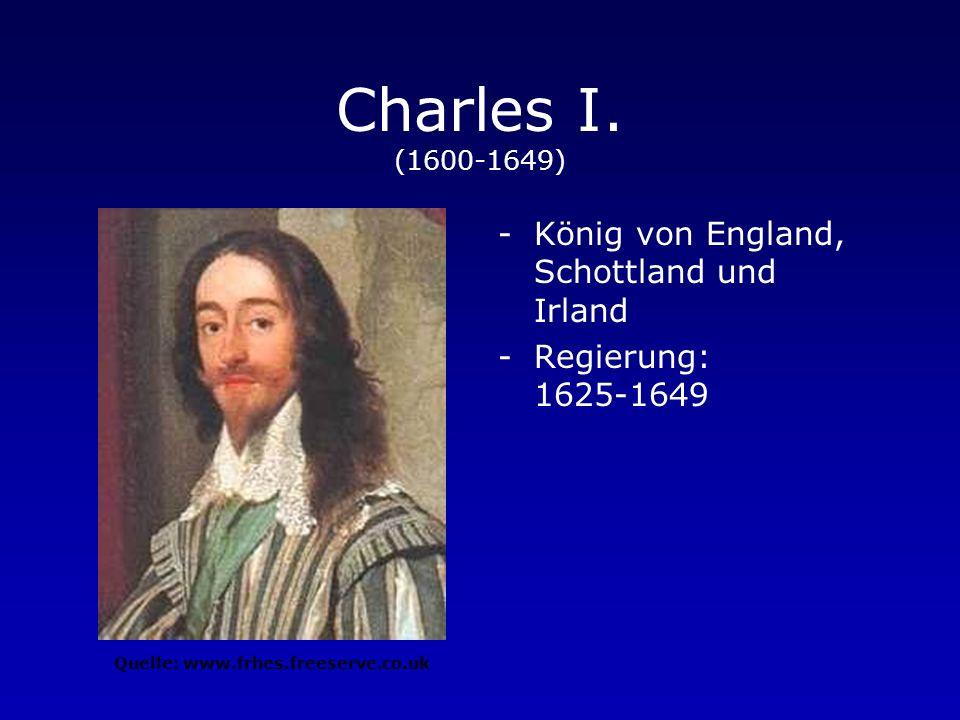 Heinrich VIII. (1491-1547) -König von England und Irland -Regierung: 1509-1547 -Gründer der anglikanischen Kirche www.frhes.freeserve.co.uk